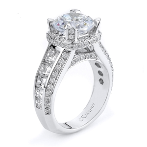 18KTW ENGAGEMENT RING 2.70CT