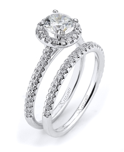 18KTW ENGAGEMENT SET 0.50CT