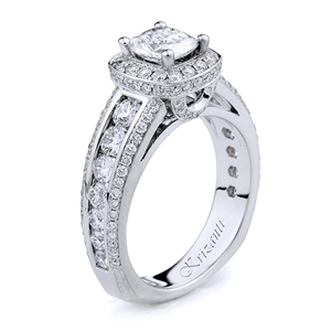 18KTW ENGAGEMENT RING, DIAMOND 1.44CT