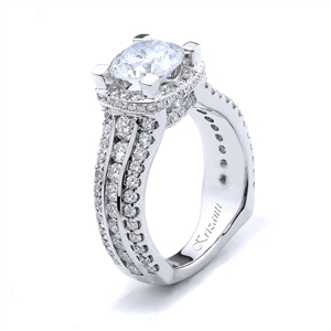 18KTW ENGAGEMENT RING 1.70CT