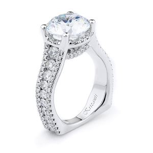 18KTW ENGAGEMENT RING, DIAMOND 1.60CT