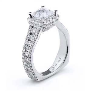 18KTW ENGAGEMENT RING 1.43CT