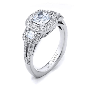 18KW ENGAGEMENT RING, DIAMOND 0.84CT