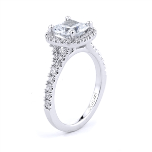 18KTW ENGAGEMENT RING, DIAMOND 0.40CT