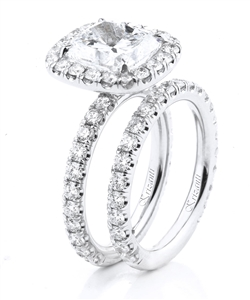 18KTW ENGAGEMENT SET 2.71CT