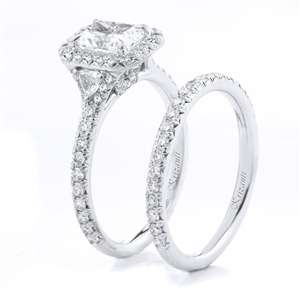 18KTW ENGAGEMENT SET 1.20CT