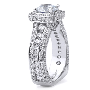 18KT WHITE ENGAGEMENT 2.28CT