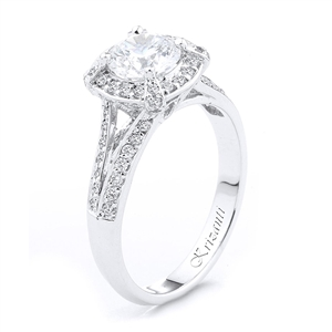18KTW ENGAGEMENT RING 0.40CT