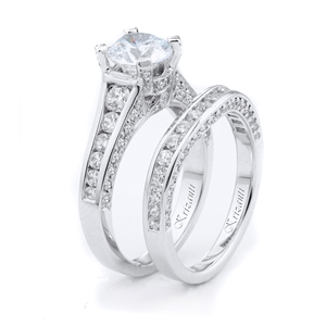 18KTW ENGAGEMENT SET 1.52CT
