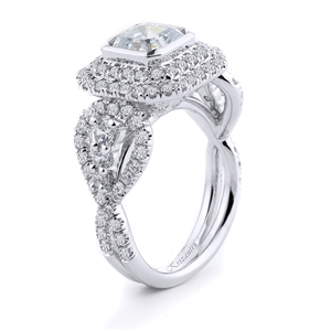 18KTW ENGAGEMENT RING, DIAMOND 1.40CT