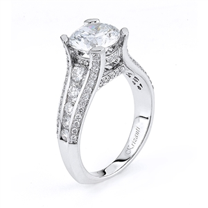 18KTW ENGAGEMENT RING 1.04CT
