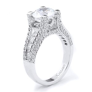 18KTW ENGAGEMENT RING 1.80CT