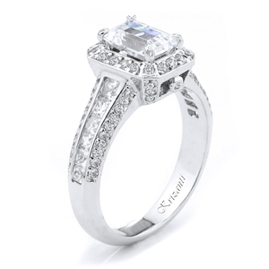18KTW ENGAGEMENT RING, DIAMOND 0.90CT