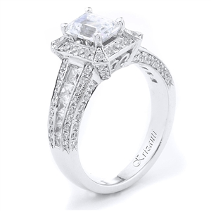 18KTW ENGAGEMENT RING 1.10CT