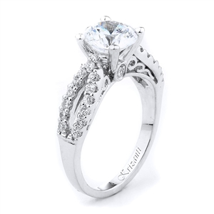 18KTW ENGAGEMENT RING DIAM-0.40CT