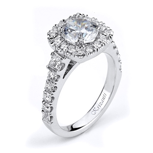 18KTW ENGAGEMENT RING DIAMOND 0.90CT