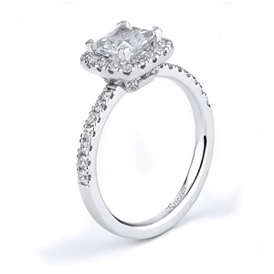 18KTW ENGAGEMENT RING 0.54CT