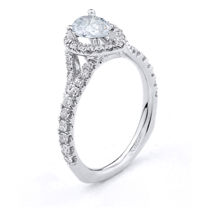 18KTW ENGAGEMENT RING 0.68CT