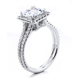 18KTW ENGAGEMENT RING 0.65CT