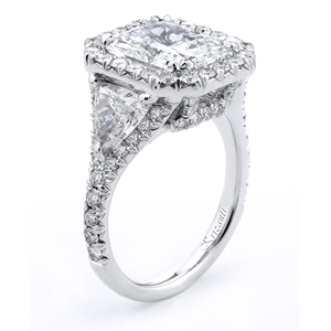 18KTW ENGAGEMENT RING 2.40CT