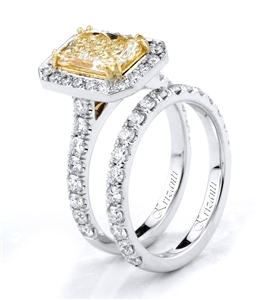 18KTW ENGAGEMENT SET, DIAMOND 1.32CT