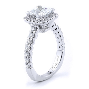 18KTW ENGAGEMENT RING 0.71CT