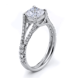 18KTW ENGAGEMENT RING 0.30CT