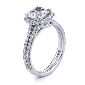 18KTW ENGAGEMENT RING 0.66CT