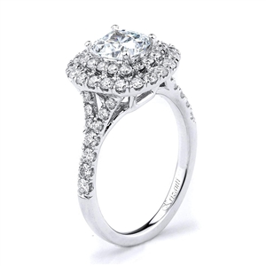 18KTW ENGAGEMENT RING 0.86CT