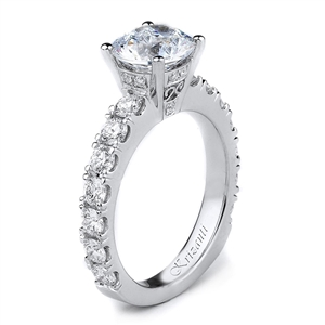 18KTW ENGAGEMENT RING 1.13CT