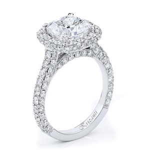 18KTW ENGAGEMENT RING 1.96CT