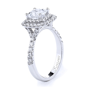 18KTW ENGAGEMENT RING 0.75CT