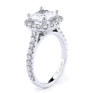 18KTW WNGAGEMENT RING 0.82CT