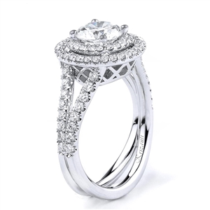 18KTW ENGAGEMENT RING 0.80CT