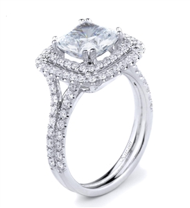 18KTW ENGAGEMENT RING 0.74CT