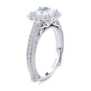 18KT.W ENGAGEMENT RING  DIAM-0.60CT