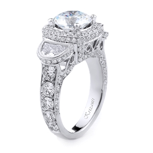 18KT.W ENGAGAGEMENT RING DIAM-2.32CT