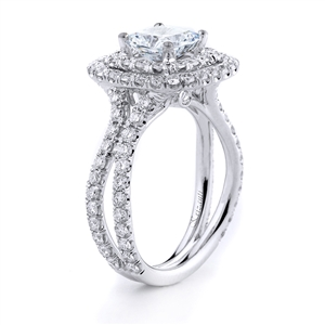 18KTW ENGAGEMENT RING, DIAMOND 1.50CT