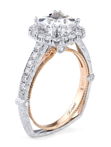 KRIZANTI 18K T.TONE ENGAGEMENT 0.75ct