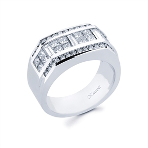 18KTW GENT'S RING 2.66CT