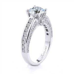 18KT.W ENGAGMENT RING 0.85CT
