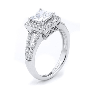 18KTW ENGAMGEMENT RING 0.50CT