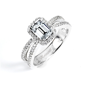18KTW ENGAGEMENT RING 0.34CT