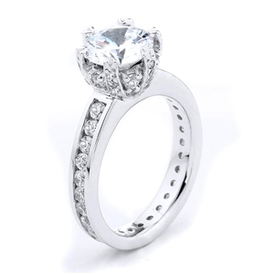 18KTW ENGAGEMENT RING 1.15CT