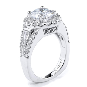 18KTW ENGAGEMENT RING  1.46CT