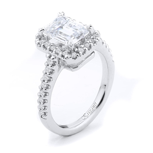 18KTW ENGAGEMENT RING 0.36CT