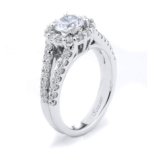 18KTW ENGAGEMENT RING 0.98CT