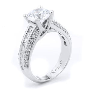 18KTW ENGAGEMENT RING 0.85CT