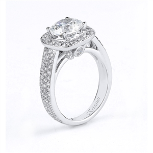 18KTW ENGAGMENT RING 1.35CT