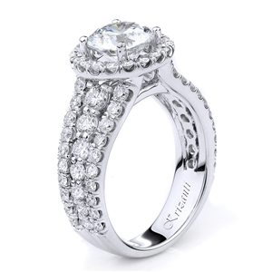 18KTW ENGAGEMENT RING 1.65CT